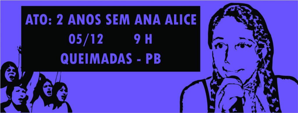 Capa Evento Facebook 2 anos Ana Alice