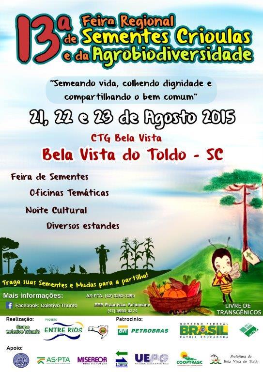 cartaz da 13 feira Paraná