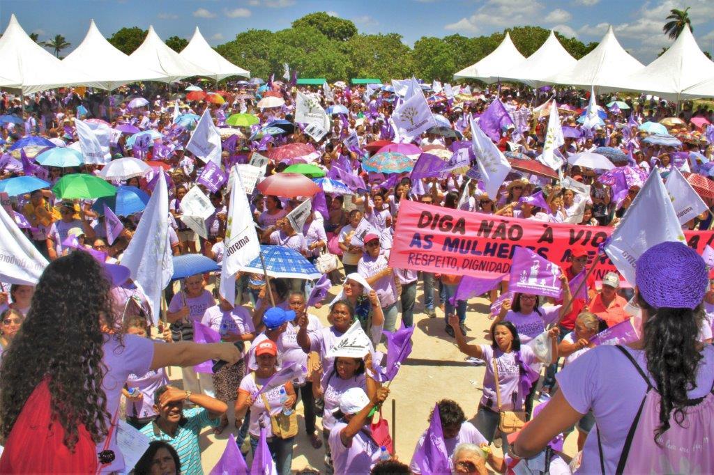 Marcha pela vida das mulheres e pela agroecologia
