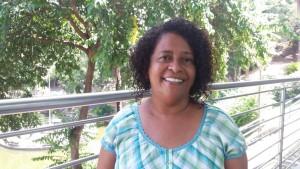 Leninha Souza, integrante da Articulação Mineira de Agroecologia (AMA). Foto: Laudenice Oliveira/Centro Sabiá