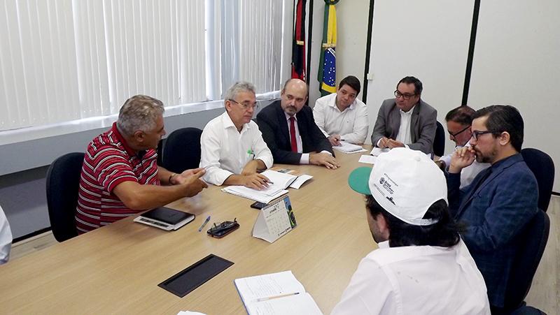 Nelson Anacleto, do sindicato dos trabalhadores rurais do polo da Borborema, agredeceu a ajuda do governo